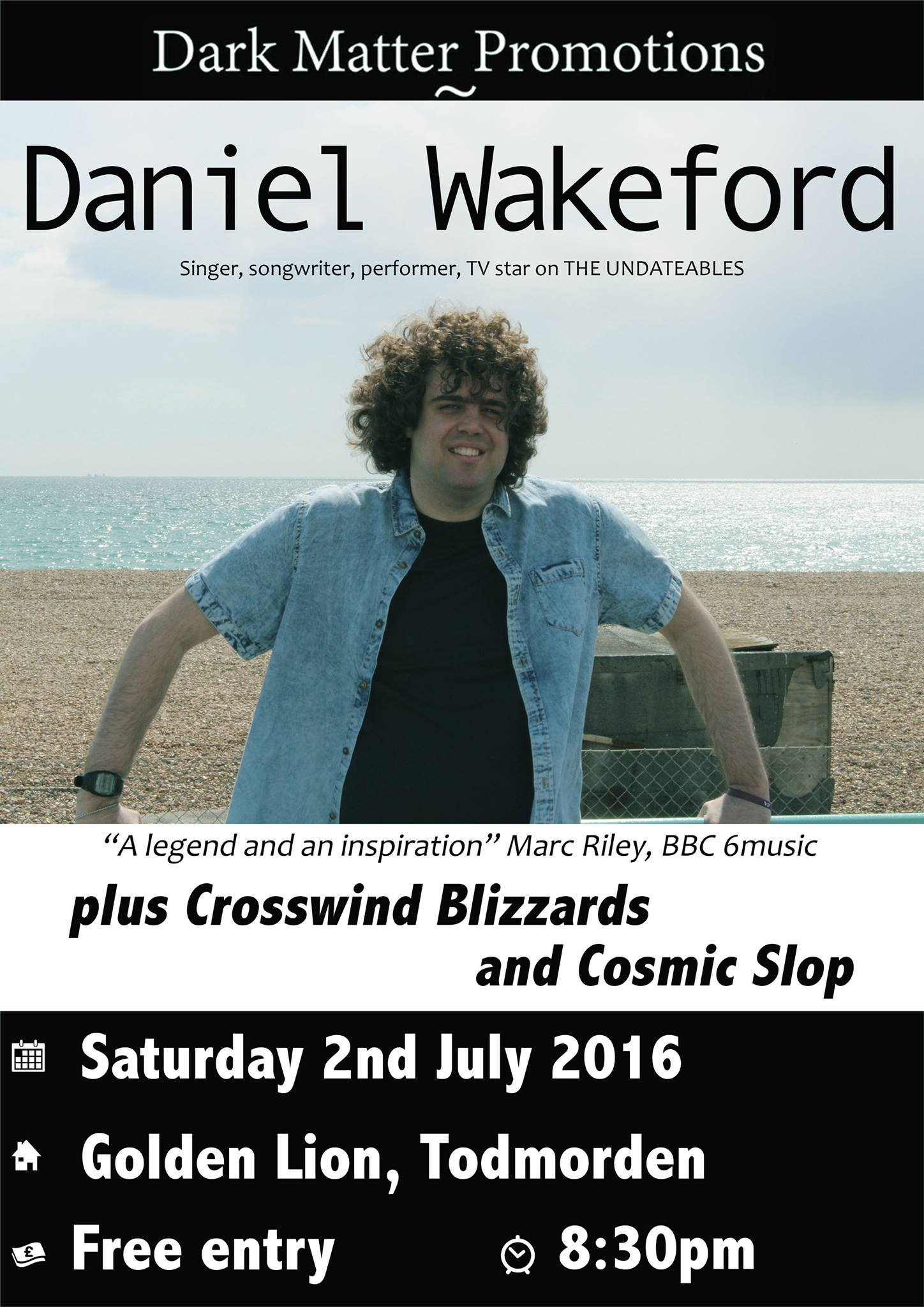 GIG PREVIEW: Daniel Wakeford, Cosmic Slop & Crosswind Blizzards ...