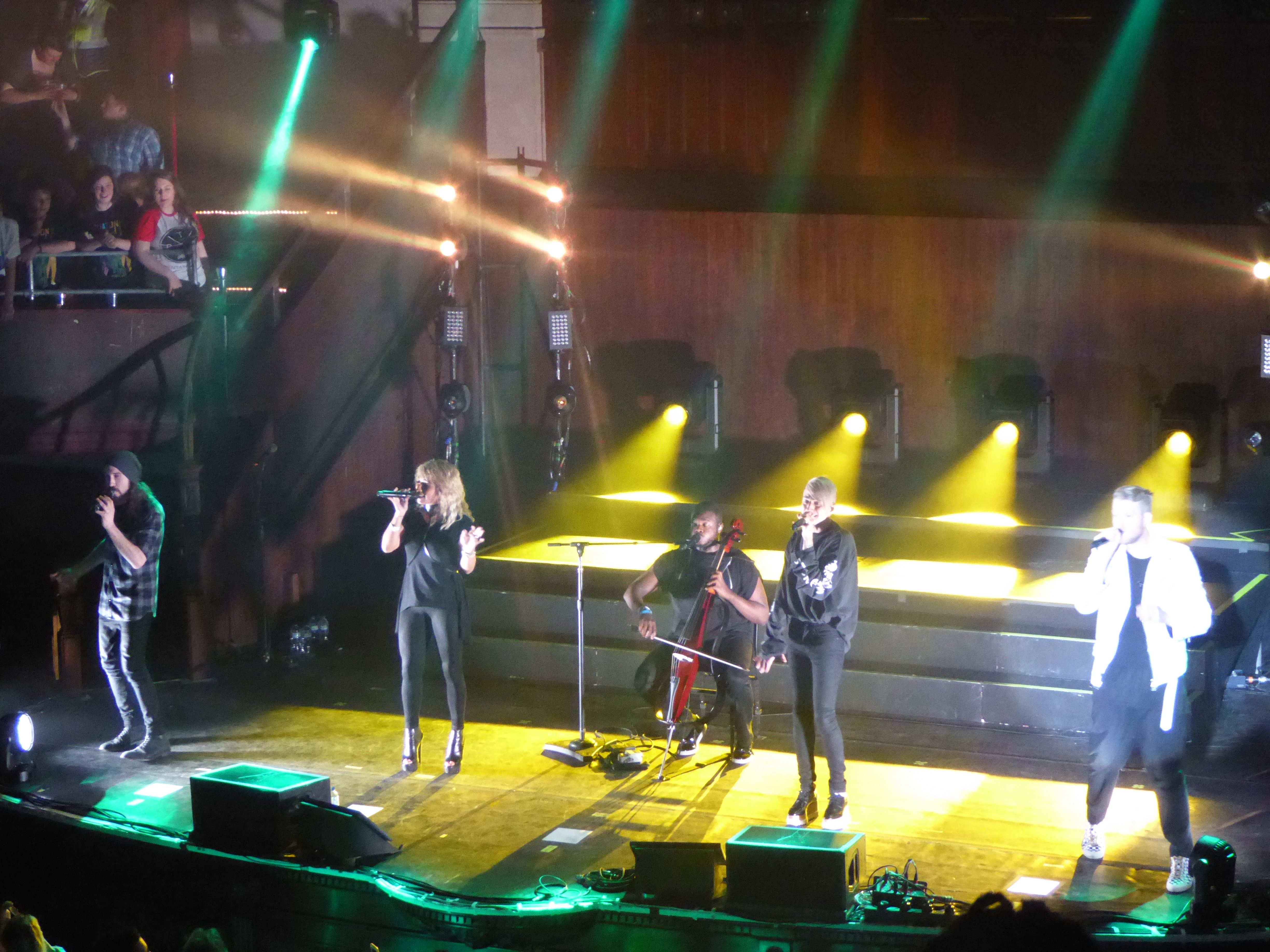 LIVE REVIEW: Pentatonix supported by Us The Duo, The Albert